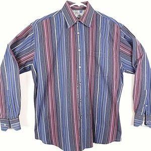 Bugatchi Uomo Men's Shirt Long Sleeve Button Up